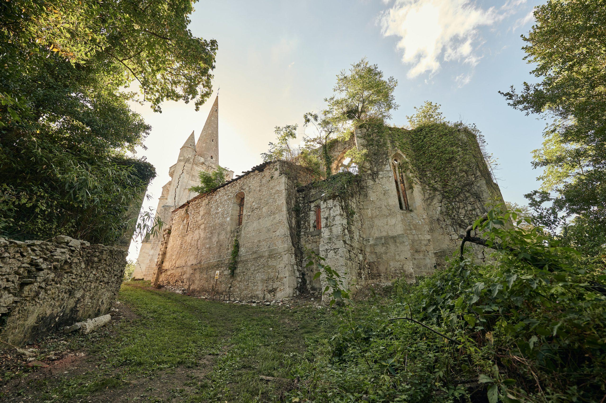 Eglise du château de Buzet
