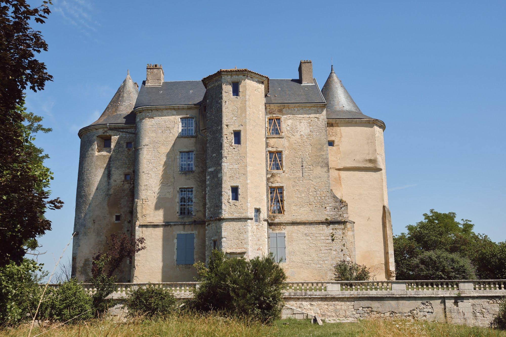 Château mis hors d'air