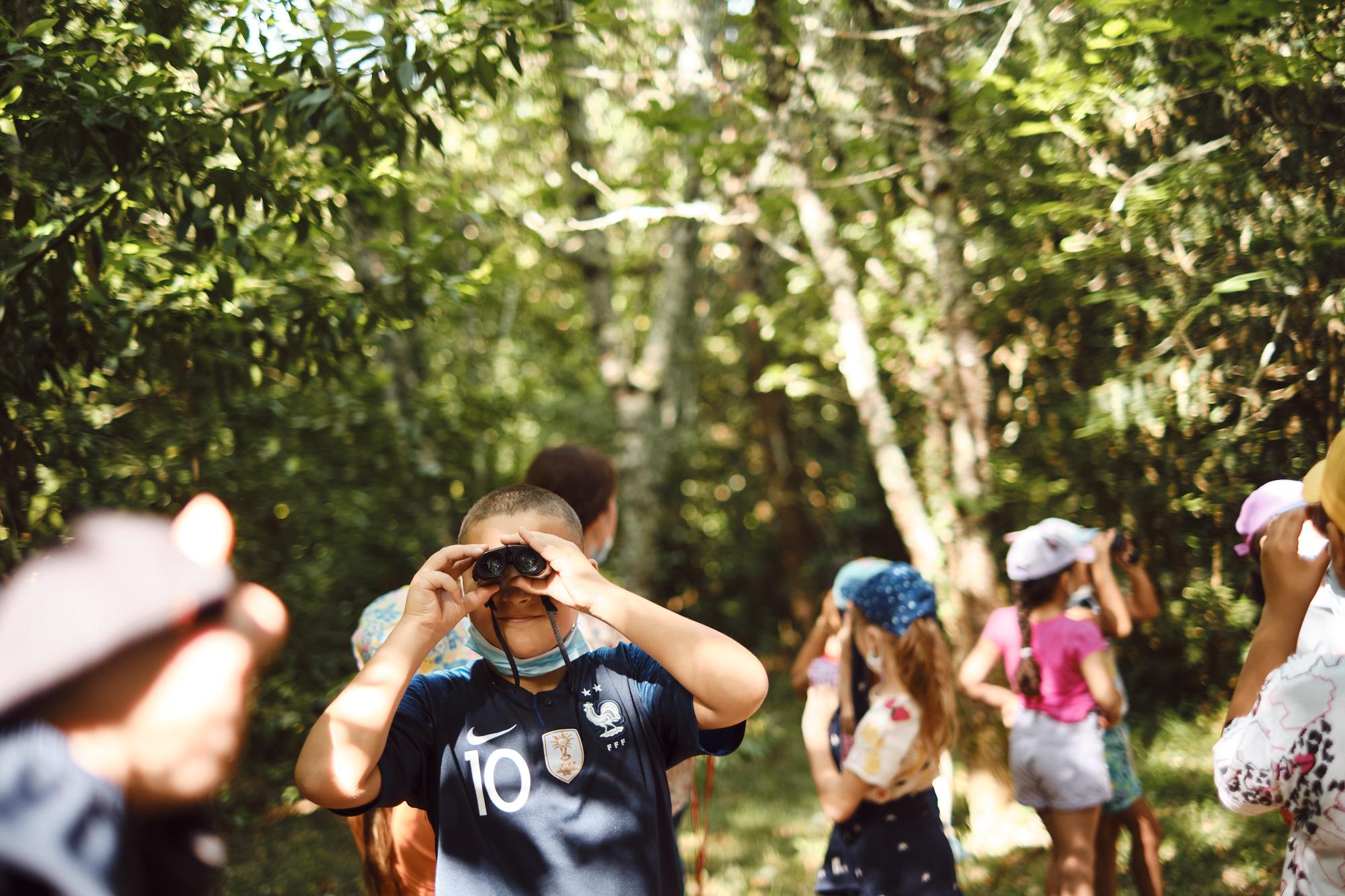 Observer la faune sauvage du parc